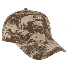 OTTO Ripstop Digital Camouflage Cotton Twill Low Profile Style Cap
