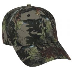 OTTO Camouflage Superior Polyester Twill Low Profile Style Cap