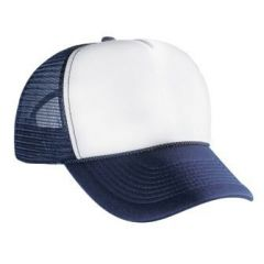 OTTO Polyester Foam Front Five Panel Pro Style Mesh Back Cap
