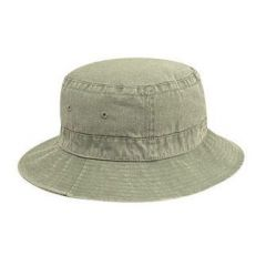 OTTO Youth Washed Pigment Dyed Cotton Twill Bucket Hats