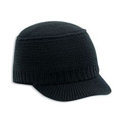 OTTO Cotton Knit Beanie with Short Visor