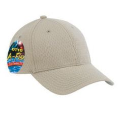 "OTTO ""Otto A-Flex"" Stretchable Polyester Pro Mesh Low Profile Style Cap"