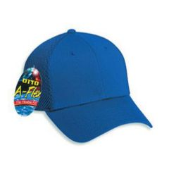 "OTTO ""Otto A-Flex"" Cotton Twill w/Stretchable Poly Air Mesh Back Low Profile Style Cap"