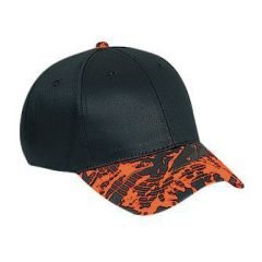 OTTO Camouflage Visor Cotton Twill Low Profile Style Cap
