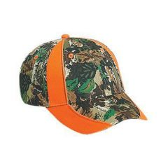 OTTO Camouflage Piping Design Cotton Twill Low Profile Style Cap