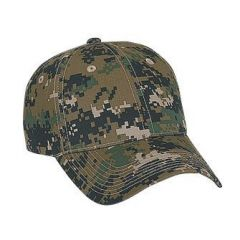 OTTO Digital Camouflage Cotton Twill Low Profile Style Cap