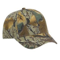 OTTO Camouflage Brushed Cotton Twill Low Profile Style Cap