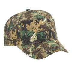 OTTO Camouflage Brushed Cotton Twill Pro Style Cap