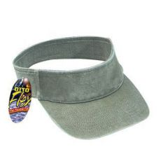 OTTO Flex Washed Pigment Dyed Cotton Twill Sun Visor