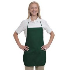 OTTO 7.5 oz. Two Pocket Medium Bib Cotton Twill Aprons