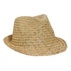 OTTO Natural Straw Fedora Hats