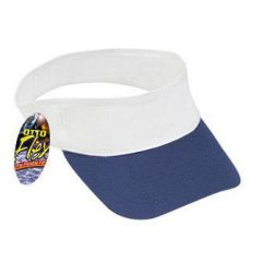 OTTO Flex Brushed Cotton Twill Sun Visor