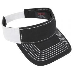 OTTO Superior Garment Washed Cotton Twill with Heavy Stitching Sun Visor