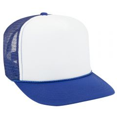 OTTO Youth Polyester Foam High Crown Golf Style Mesh Back Cap