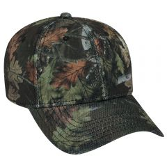 OTTO Camouflage Polyester Piqu?? Mesh Low Profile Style Cap