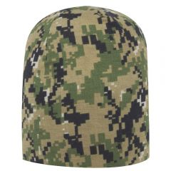 OTTO Digital Camouflage Polyester Jersey Knit Beanie 9 1/2""