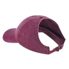 OTTO Washed Pigment Dyed Cotton Twill Ponytail Low Profile Style Cap