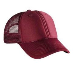 OTTO Polyester Foam Front Low Profile Style Mesh Back Cap