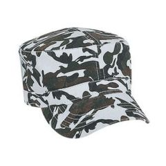OTTO Camouflage Superior Garment Washed Cotton Twill Military Style Cap