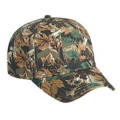 OTTO Youth Camouflage Cotton Twill Low Profile Style Cap