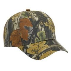 OTTO Camouflage Cotton Twill Low Profile Style Cap