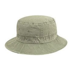 OTTO Washed Pigment Dyed Cotton Twill Bucket Hat (M) (L)