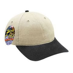OTTO Flex Stretchable Garment Washed Cotton Twill Low Profile Style Cap